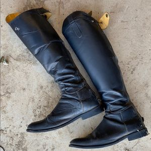 Equine riding boots. Real leather!